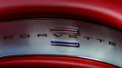 1961 Chevrolet Corvette Poster by Randy Scherkenbach