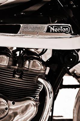 1961 Norton Navigator Poster by Tim Gainey
