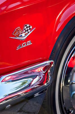 1962 Chevrolet Impala Ss 409 Emblem Poster