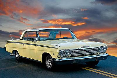 1962 Chevrolet Ss Impala Poster
