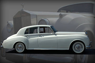 1962 Rolls Royce Silver Cloud Poster by Tim McCullough
