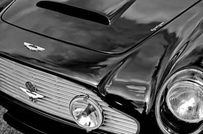 1963 Aston Martin Db4 Series V Vintage Gt Grille Emblem Poster by Jill Reger