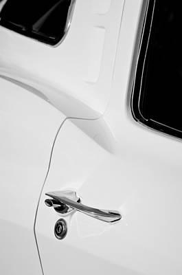1963 Chevrolet Corvette Split Window E-079bw Poster by Jill Reger