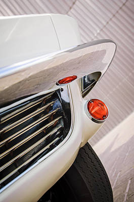 1963 Chevrolet Corvette Split Window Grille -221c Poster by Jill Reger