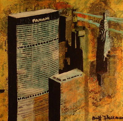 1963 Nyc Skyline Poster