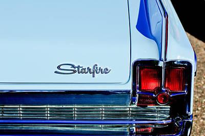1963 Oldsmobile Starfire Taillight Emblem Poster by Jill Reger