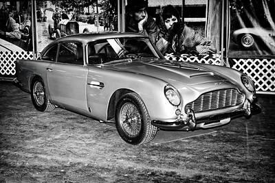 Poster featuring the photograph 1964 Aston Martin Db5 by Boris Mordukhayev