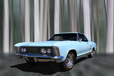 1964 Buick Riviera Poster