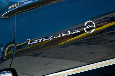 1964 Chevrolet Impala Script Poster