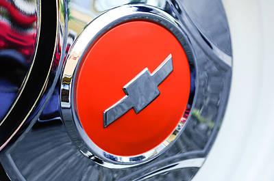 1964 Chevrolet Pickup Truck K 10 Wheel Emblem Poster