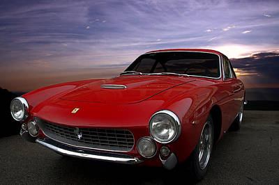 1964 Ferrari 250 Gt Lusso Berlinetta Poster by Tim McCullough