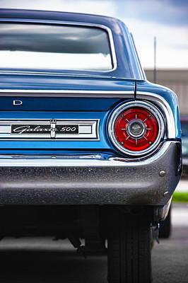 1964 Ford Galaxie 500 Poster by Gordon Dean II