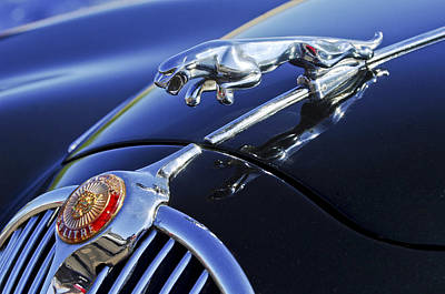 1964 Jaguar Mk2 Saloon Poster