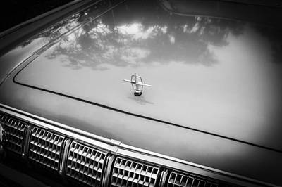 1964 Lincoln Continental Convertible Bw    Poster