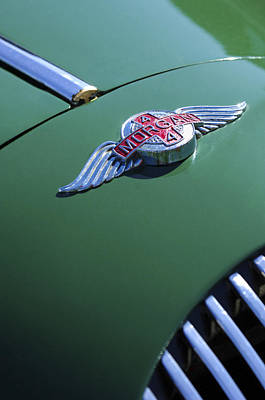 1964 Morgan 44 Hood Ornament Poster