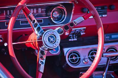 1964 Mustang Interior Poster