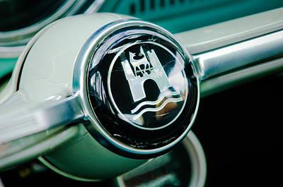 1964 Volkswagen Vw Steering Wheel Poster