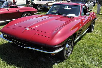 1965 Chevrolet Corvette Coupe 5d22857 Poster