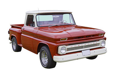 1965 Chevrolet Pickup Truck Poster by Keith Webber Jr