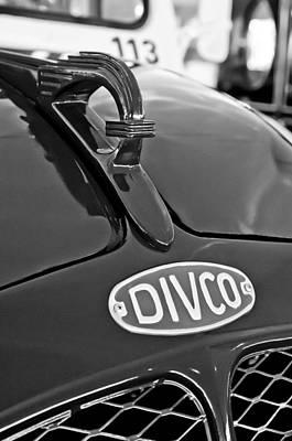 1965 Divco Milk Truck Hood Ornament 3 Poster