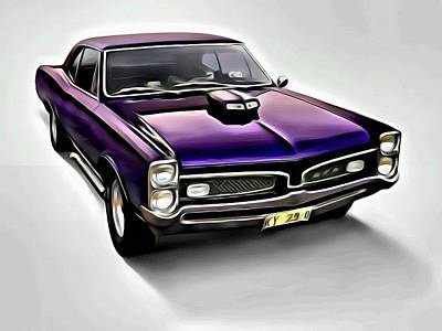 1965 Pontiac Gto Poster