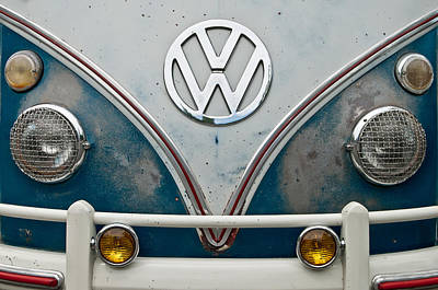 Poster featuring the photograph 1965 Vw Volkswagen Bus by Jani Freimann