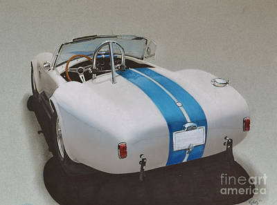 1966 Cobra Poster by Paul Kuras