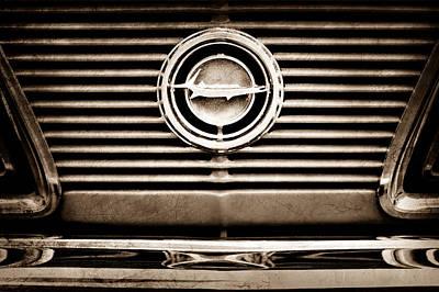 1966 Plymouth Barracuda - Cuda - Emblem Poster by Jill Reger