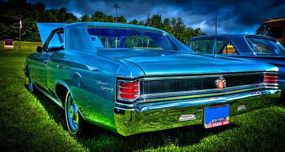1967 Chevrolet Chevelle Ss Poster