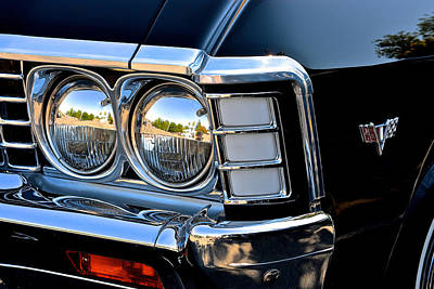 1967 Chevy Impala Front Detail Poster