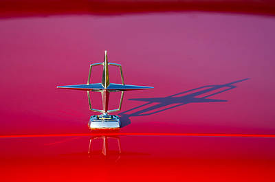 1967 Lincoln Continental Hood Ornament -158c Poster by Jill Reger