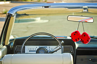 1967 Lincoln Continental Steering Wheel -014c Poster