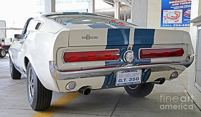 1967 Mustang Shelby Gt-350 Poster