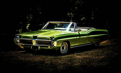 1967 Pontiac Bonneville Poster by motography aka Phil Clark