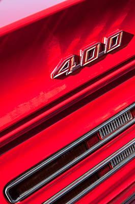 1967 Pontiac Firebird 400 Emblem Poster