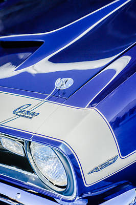 1968 Chevrolet Yenko Super Camaro Emblem -0653c Poster by Jill Reger