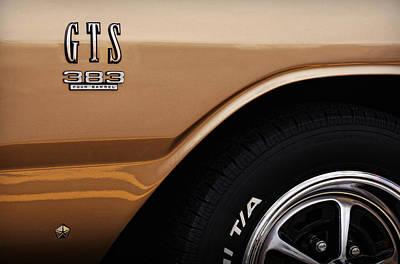 1968 Dodge Dart Gts 383 Four Barrel Poster by Gordon Dean II