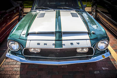 1968 Ford Shelby Mustang Gt350 Poster by Rich Franco