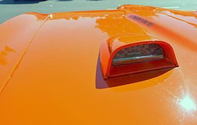1968 Pontiac Gto Hood Tachometer Poster by Don Struke