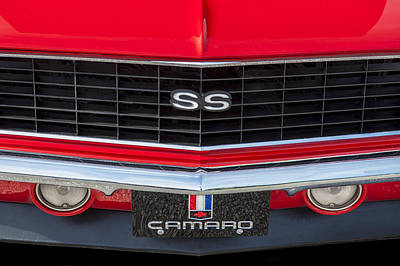 1968 Ss 396 Camaro Poster by Rich Franco