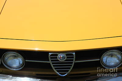 1969 Alfa Romeo 1750 Gtv Coupe 5d23172 Poster by Wingsdomain Art and Photography
