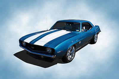 1969 Camaro Poster