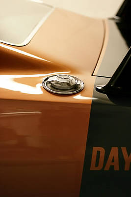 1969 Dodge Charger Daytona - Fuel Day Poster by Gordon Dean II