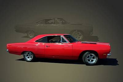 1969 Plymouth 440 Roadrunner Poster