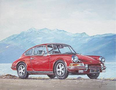 1969 Porsche 911 2.0 S Poster