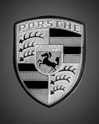 1969 Porsche 911 Targa Emblem - 0611vw45 Poster by Jill Reger
