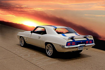 1969 Trans Am Poster
