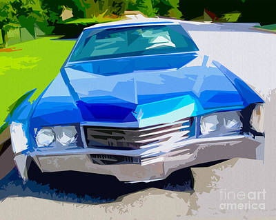 1970 Cadillac Eldorado Poster by Bruce Stanfield