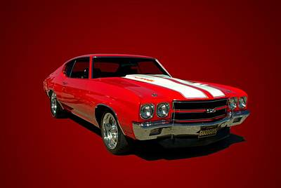 1970 Chevelle Super Sport Poster by Tim McCullough