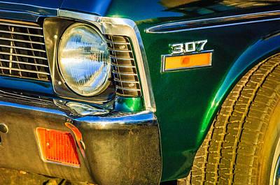 1970 Chevrolet Nova Headlight Emblem Poster